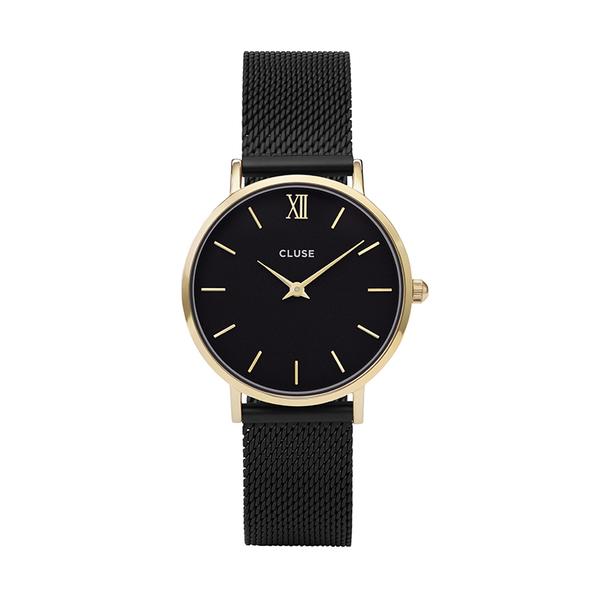 Zegarek damski cluse minuit gold black black cl30026