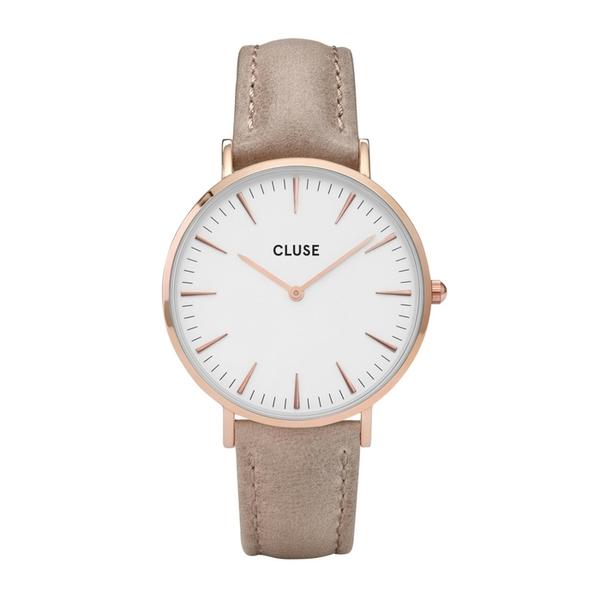Cluse cl18031 rose gold white hazelnut zegarek damski moj zegarek