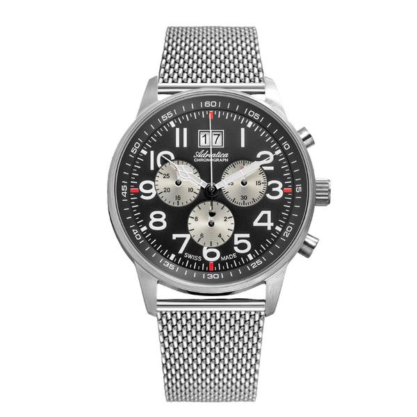 Zegarek m%c4%99ski adriatica mesh a1076.5124ch