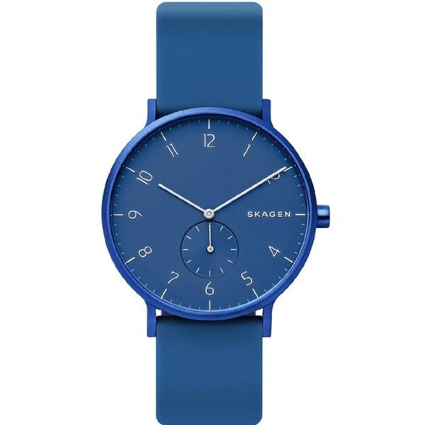 Niebieski zegarek skagen unisex skw6508