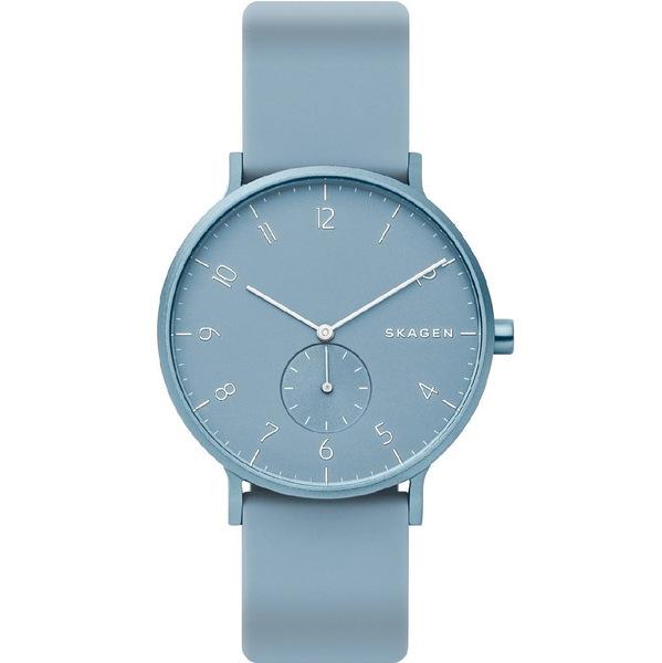 Niebieski zegarek skagan kulor unisex skw6509