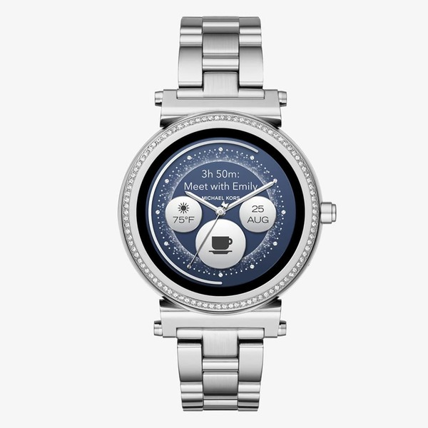 Smartwatch michael kors sofie srebrny tarcza 2 mkt5020