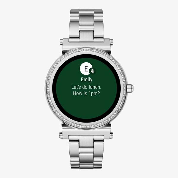 Smartwatch michael kors sofie srebrny tarcza 1 mkt5020