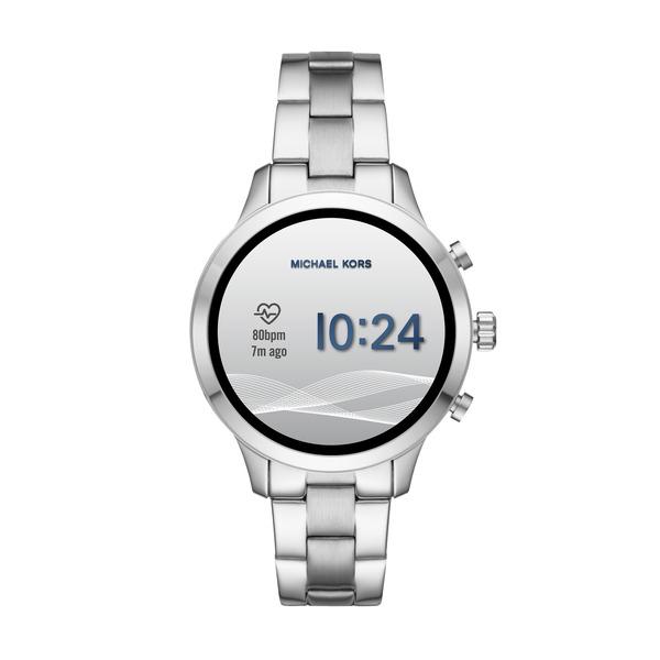 Smartwatch  michael kors srebrny damski mkt5044 najnowszy pomiar tetna