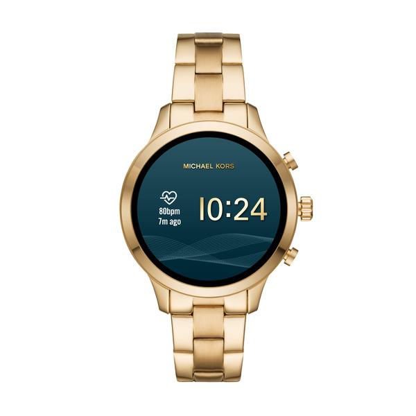 Smartwatch  michael kors runway z%c5%82oty damski mkt5045 najnowszy pomiar tetna