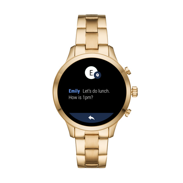Smartwatch  michael kors runway zloty damski mkt5045 najnowszy sms