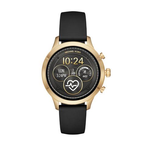 Smartwatch michael kors runway mkt5053 damski czarny pasek najnowszy