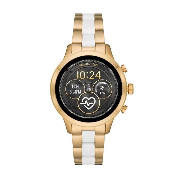 Smartwatch michael kors zloty bialy mkt5057