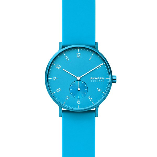 Zegarek skagen kulor neon niebieski skw6555