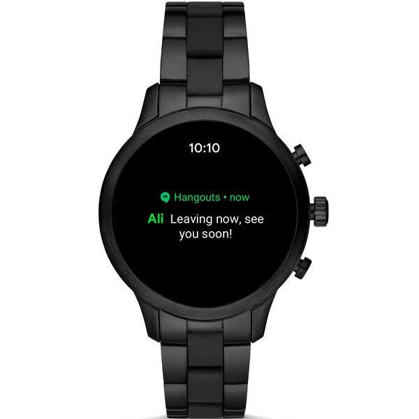 Smartwatch michael kors runway mkt5058 czarny  powiadomienia