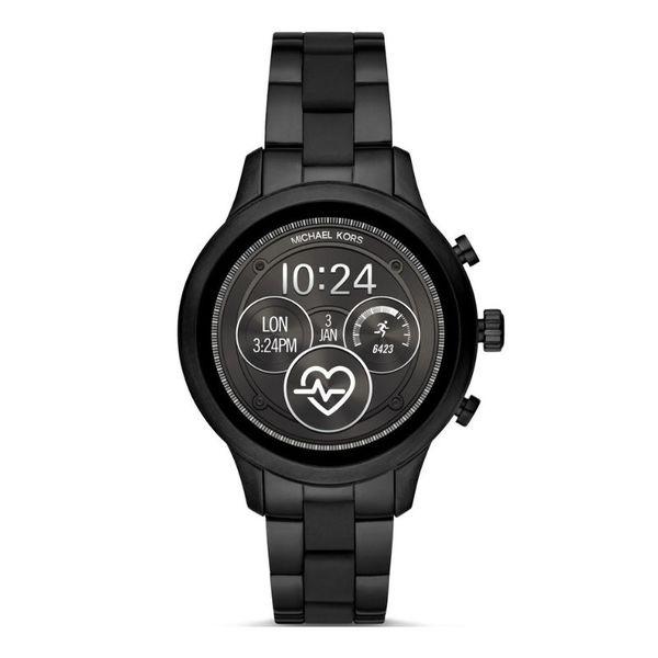 Smartwatch michael kors czarny runway mkt5058