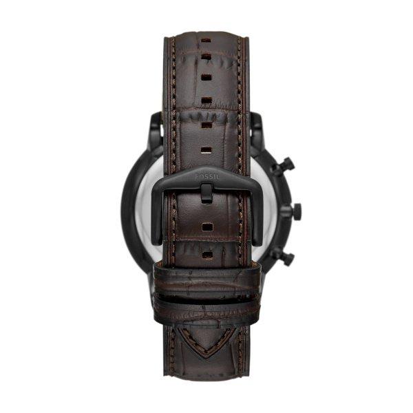 Zegarek fossil fs5579 neutra chrono brazowy paek tyl zapiecie