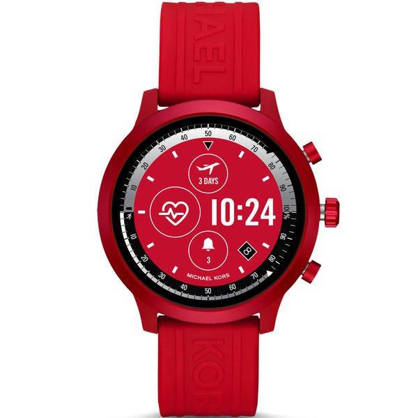 Smartwatch michael kors mkgo czerwony mkt5073 funkcje