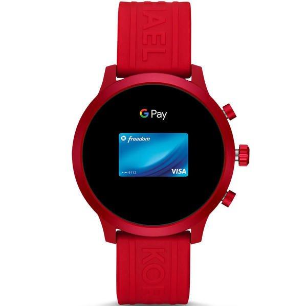 Smartwatch michael kors mkgo czerwony mkt5073 platnosci