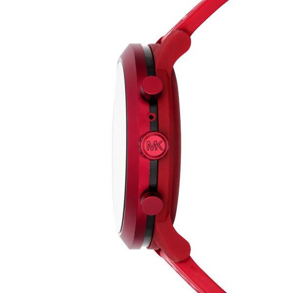Smartwatch michael kors mkgo czerwony mkt5073 koperta