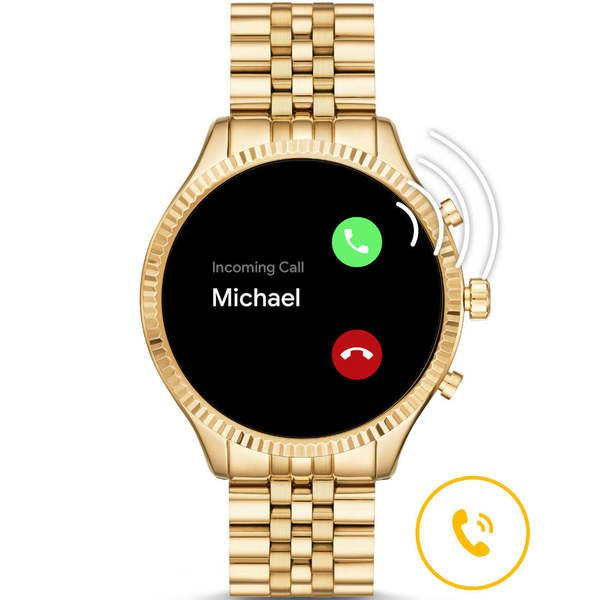 Smartwatch michael kors lexington zloty mkt5078 rozmowa
