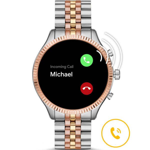 Mkt5080 smartwatch michael kors lexington trzy kolory rozmowy