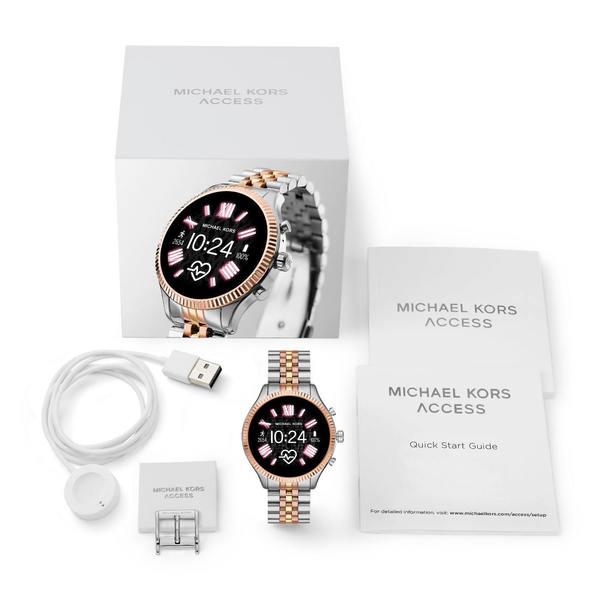 Mkt5080 smartwatch michael kors lexington trzy kolory opakowanie