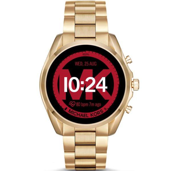 Mkt5085 smartwatch michael kors bradshaw zloty funkcje