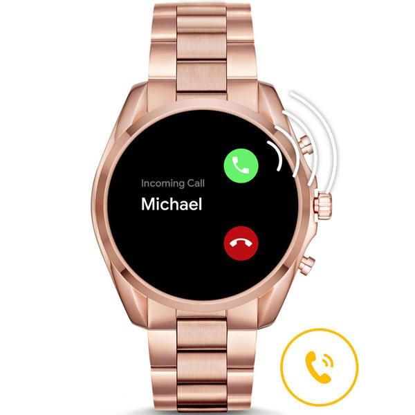 Mkt5086 smartwatch michael kors bradshaw rose gold rozmowa