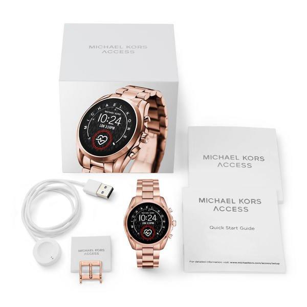 Mkt5086 smartwatch michael kors bradshaw rose gold zestaw
