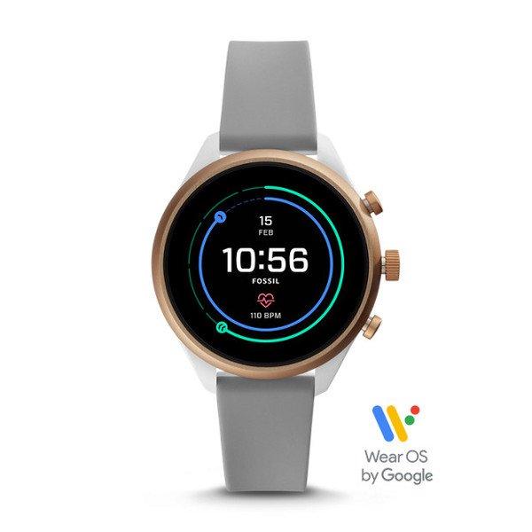 Smartwatch fossil sport ftw6025 szary