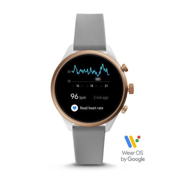 Smartwatch fossil sport ftw6025 szary pomiar tetna