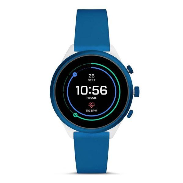 Smartwatch fossil sport niebieski ftw6051 funkcje