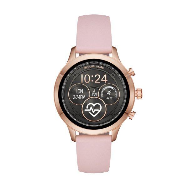 Mkt5048 smartwatch michael kors z rozowym paskiem