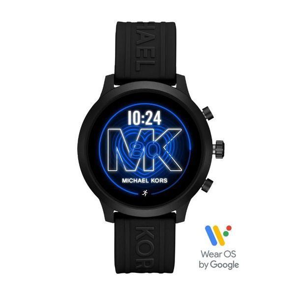 Smartwatch michael kors czarny sportowy mkt5072
