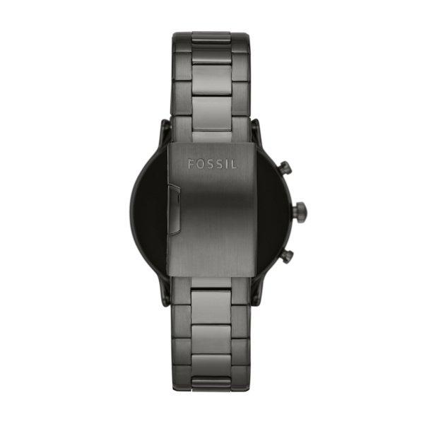 Najnowszy smartwatch fossil meski 5 generacja szary ftw4024 na bransolecie