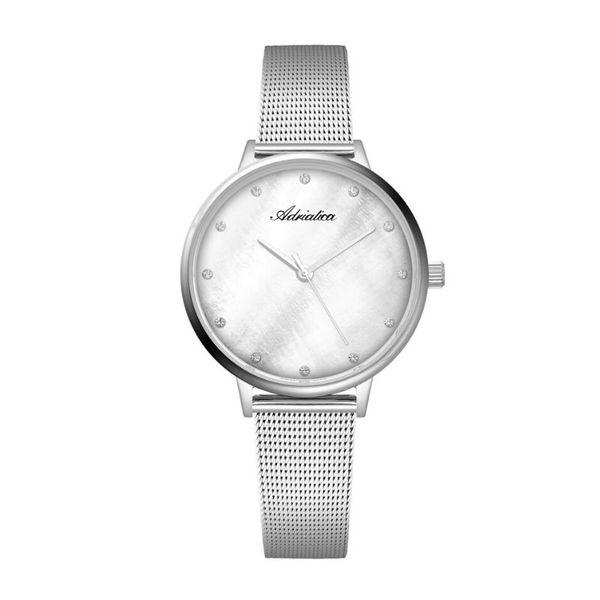 Zegarek damski adriatica na srebrnej bransolecie a3573.514fq
