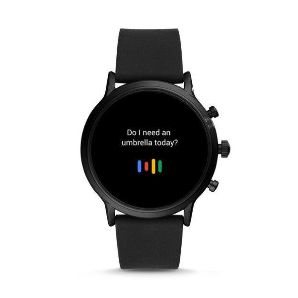 Najnowszy smartwatch fossil meski 5 generacja czarny ftw4025 mikrofon