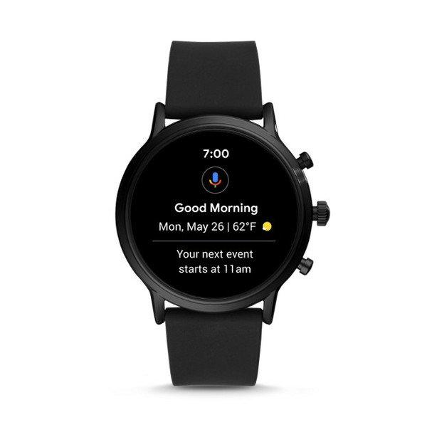 Najnowszy smartwatch fossil meski 5 generacja czarny ftw4025 funkcje