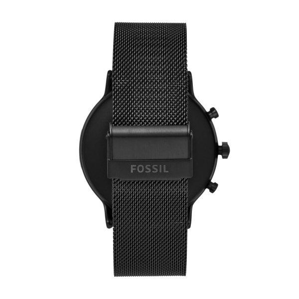 Smartwatch fossil damski ftw6036 czarny bransoleta mesh
