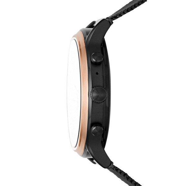 Smartwatch fossil damski ftw6036 czarny koperta