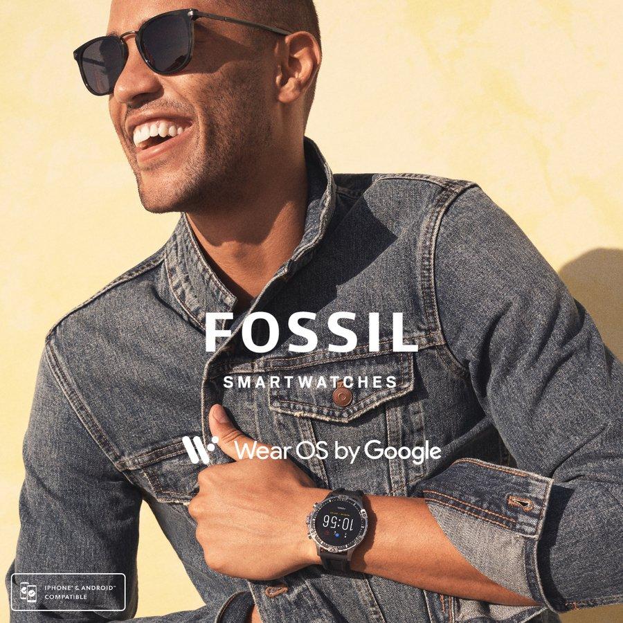 Smartwatch męski FOSSIL Smartwatch fossil ftw4041 gen 5 garrett hr ...