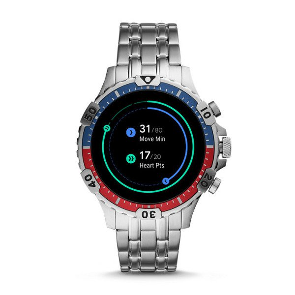 Smartwatch meski fossil ftw4040 pomiar aktywnosci