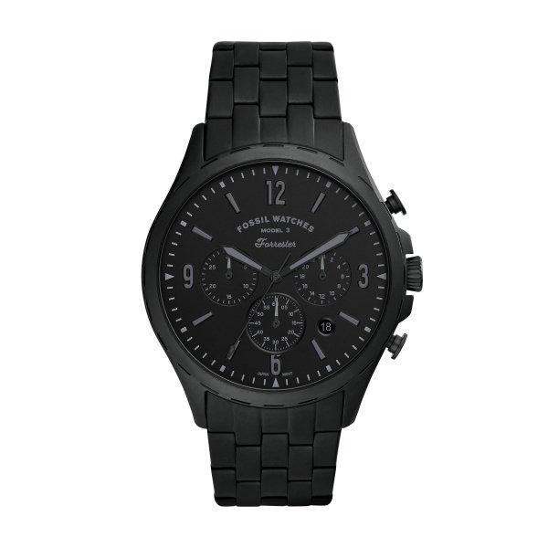 Zegarek fossil fs5697 czarny forester