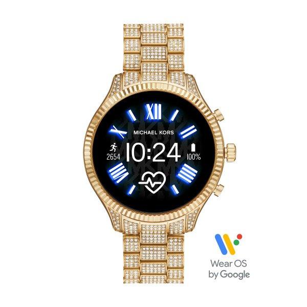 Smartwatch michael kors lexington z kryszta%c5%82akmi mkt5082