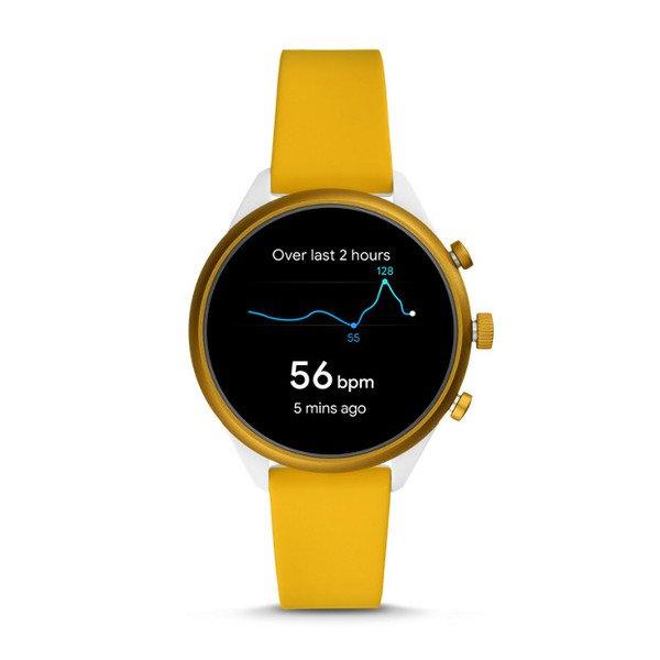 Smartwatch fossil sport zolty ftw6053 funkce