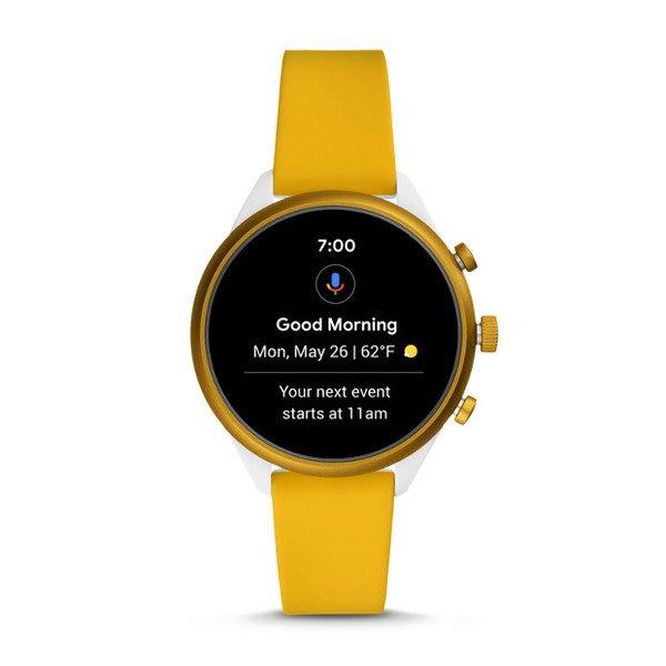 Smartwatch fossil sport zolty ftw6053 aktywnosc