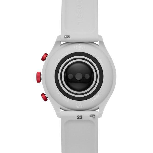 Smartwatch fossil sport czerwony bordowy damski meski ftw4033 ladowanie indukcyjne