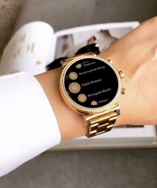 Smartwatch michael kors zloty sofie mkt5062 na bransolecie