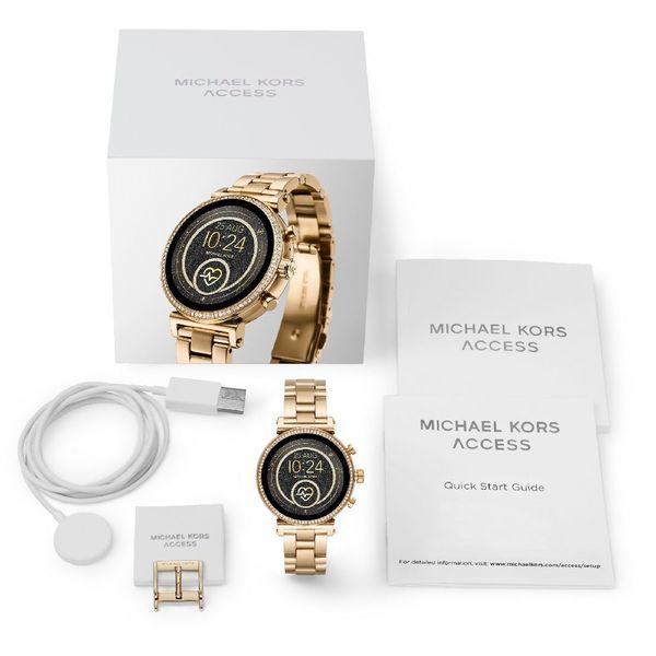 Smartwatch michael kors zloty mkt5062 bransoleta autoryzowany sklep bateria