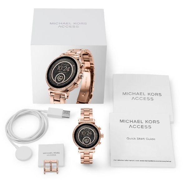 Smartwatch michael kors rose gold bransoleta mkt5063 sofie