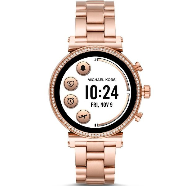 Smartwatch michael kors rose gold bransoleta mkt5063 sofie funkcje