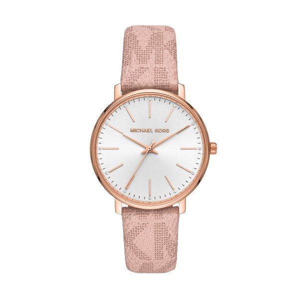 Zegarek michael kors pyper z rozowym paskiem mk2859