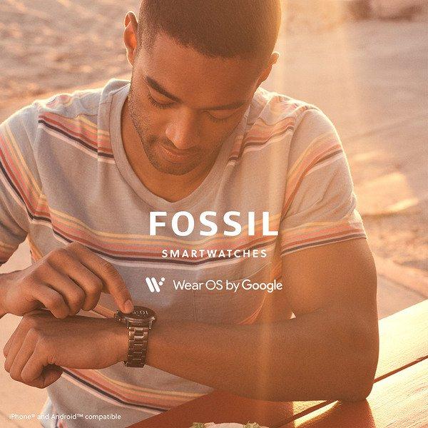 Smartwatch fossil 5 generacja meski na bransolecie ftw4024