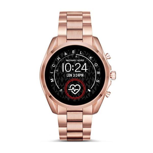 Najnowszy smartwatch michael kors rose gold na bransolecie mkt5086
